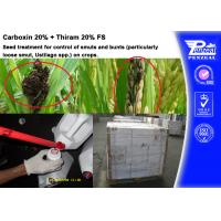 Wholesale Carboxin 20% + Thiram 20% FS Pesticide Mixture Seed Treatment Cas 5234-68-4 from china suppliers