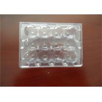 Wholesale Middle Split PE Hard Plastic Egg Cartons Without Cracking And Crashing from china suppliers