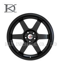 Wholesale 6 Spoke Car Custom Racing Wheels , 22 Inch 4X4 Wheels Rims 5 Hole High Speed from china suppliers