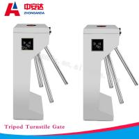 Wholesale RFID Vertical Full Automatic Tripod Turnstile GB304 Stainless Steel Security Access Control Barrier Gate from china suppliers
