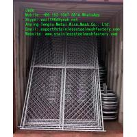 Wholesale Galvanized Chain Link Fence/Temporary Fence, Zinc Layer and Metal Wire Bond Very Well from china suppliers