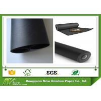 Wholesale Smooth Surface Two Side Coated Black Paper On A Roll For Shopping Bag 787 mm Width from china suppliers