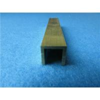 Wholesale Different Shape Copper U Channel and Size Brass Extruding U Channel from china suppliers
