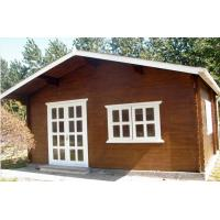 Buy cheap Small Pine Wood Outdoor Wooden Chalet Cabin House Without Paint from wholesalers