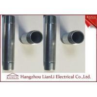 Wholesale Steel IMC Rigid Electrical Conduit Electro Galvanized 3/4 Threaded Nipple from china suppliers