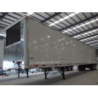 Quality Refrigerated Semi-trailers- 3 Axles, Reefer Trailers, Aluminum Refrigerator, 3-Axles Reefer Semi-trailer, Box Trialers for sale