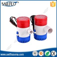 Wholesale Sailflo 1100GPH non- auto 12V boat submersible bilge pump for marine/boat from china suppliers