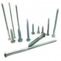 Wholesale Hex Head Wood Screw DIN571 Zinc Plated Carbon Steel Wood Screw from china suppliers