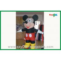 Wholesale Outdoor Advertising Black Inflatable Mouse Inflatable Cartoon Characters from china suppliers