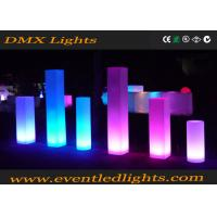 Wholesale wedding events  decorative lighting multi color pillars from china suppliers