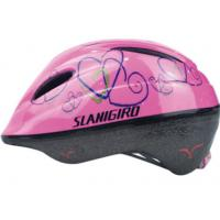 Wholesale Fashionable Custom PVC Bike Helmet Child Flower Pattern For Climbing , Skating from china suppliers