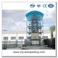 Wholesale 8 10 12 14 Sedans Vertical Car Parking System Rotating from china suppliers