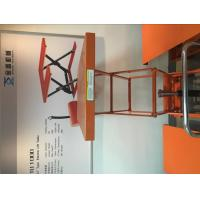 Wholesale Orange Pneumatic Lift Table With Durable Enamel Finish , Hydraulic Cylinder from china suppliers