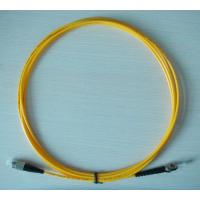 Wholesale Singlemode Simplex Fiber Optic Patch Cord FC ST , 0.9mm / 2.0mm / 3.0mm Diameter from china suppliers