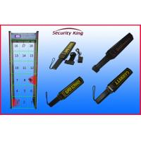 Wholesale Airport Security Checking Door Frame Metal Detector , Multi Zone Walk Through Gate from china suppliers