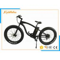 Wholesale Adult Electric Fat Tire Snow Bike , Specialized Mountain Bikes With Fat Tires 26x4.0 from china suppliers