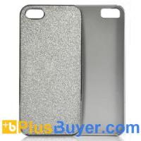 Wholesale Silver Glitter Case for iPhone 5 - Ultra Lightweight from china suppliers
