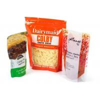 Buy cheap QS Plastic Zipper Bags For Food Packaging With Vivid Printing , PET / AL / PET / PE from wholesalers