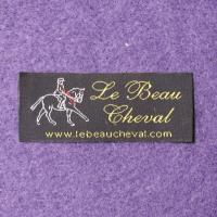 China Washable Polyester Woven Clothing Labels For Clothing Garment Bags on sale