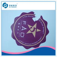 Wholesale Custom Die Cut Vinyl Stickers , Anti-Counterfeiting Destructible Stickers from china suppliers