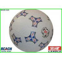 Wholesale Small Rubber Footballs Size 2 / Size 3 , PVC PU TPU Flag Soccer Ball from china suppliers