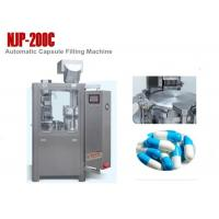 Wholesale NJP-200C Small Automatic Capsule Filling Machine for Powder , 12000 Capsules / Hour from china suppliers