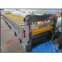 Buy cheap Corrugated Cold Roll Forming Equipment / Roll Forming Line 7.5KW from wholesalers