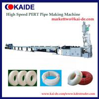 Wholesale China high speed PE-RT Pipe Making Machine 16mm-32mm for floor heating purpose from china suppliers