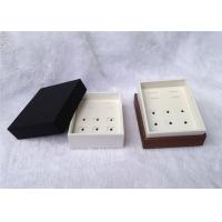 Wholesale Up And Down Cufflink And Tie Clip Storage Box Square Shape 93 X 75 X 50mm Size from china suppliers