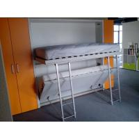 Wholesale Modern Murphy Bunk Bed for Dormitory , E1 Grade Panel , White Color from china suppliers