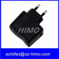 Wholesale promotion model 5v 0.5A 1A AC DC power adapter usb charger for mobile phone CE,FCC,UL approved from china suppliers