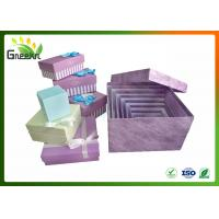 Buy cheap Rigid Square Nested Custom Gift Boxes for Christmas Gift Package from wholesalers
