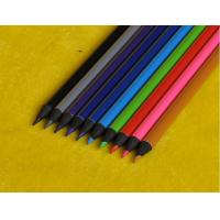 Wholesale Black wooden triangle HB pencil with Metallic paint,colored lead black pencil from china suppliers