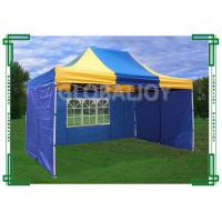 Wholesale Iron / Aluminum Frames Gazebo Replacement Canopy 3 x 4.5m With 3 Sidewalls from china suppliers
