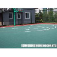 Wholesale Waterproof Athletic Floor Mats Surfaces For Gymnasium / Basement from china suppliers