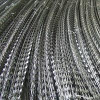 Wholesale Anti Corrosion Concertina Razor Wire , High Protection Galvanized Razor Wire from china suppliers