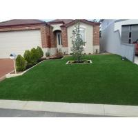 Wholesale 25mm Straight / Curly Landscaping Artificial Grass U V Resistant from china suppliers