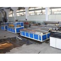 Wholesale Double - Screw PVC Wood Plastic Board Production Line For Window Profile from china suppliers