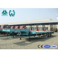 Wholesale 8000mm Hydraulic Low Loader Trailer Steel Coil With Mechanical Suspension with manual ladder from china suppliers