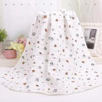 Wholesale Custom Muslin Cotton Wrap Bamboo Fabric Baby Swaddle Blankets With Warped Knitting from china suppliers