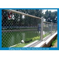 Buy cheap Decorative School Playground Galvanized Chain Link Wire Fence , Chain Wire Fencing from wholesalers