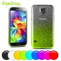 Wholesale Soft Tpu cell phone covers for samsung s5 , Raindrop design mobile phone covers from china suppliers