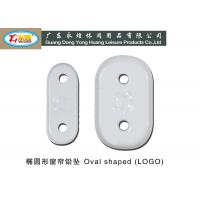 Wholesale Die casting oval type Lead Curtain Weights with logo 17-50G from china suppliers