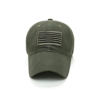 Wholesale Fashion Letter Pattern 6 Panel Cotton Cap With Metal Buckle from china suppliers