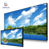 Wholesale Samsung Lg 49 Inch Hd Video Wall , Ultra Narrow Bezel Wall Mounted Video Wall from china suppliers