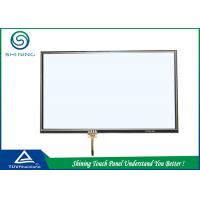 Quality ITO Film 4 Wire Resistive Touch Panel Capacitive Touch Pad Analogue Type for sale