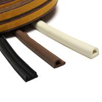 Quality self adhesive rubber strip door seals sponge foam EPDM rubber extrusions E/P/D shaped section for sale