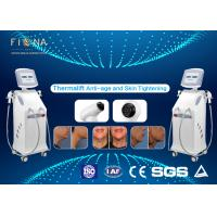 Wholesale White Rf Skin Tightening Machine Anti - Aging Adjustable Energy With Five Handles from china suppliers