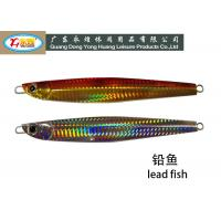 Wholesale Large fishing weights with Red painting , non toxic fishing weights from china suppliers