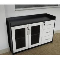 Wholesale Storage Modern Side Tables For Living Room , Double Door Tea Cabinet Wooden from china suppliers